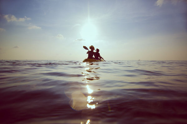 Women in Kayak