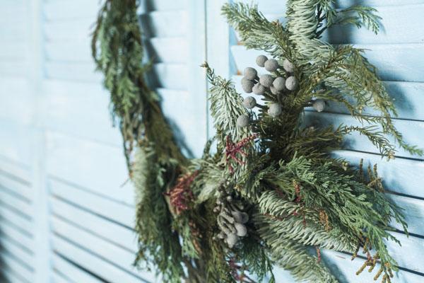 Real simple Christmas wreath