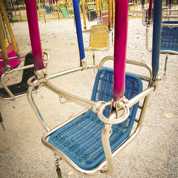 Swing chair at carnival